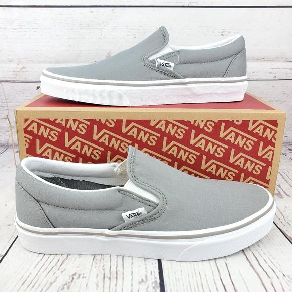 New Vans Classic Slip On Wild Dove Grey